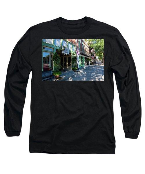Broad Street Downtown Augusta Ga Long Sleeve T-Shirt