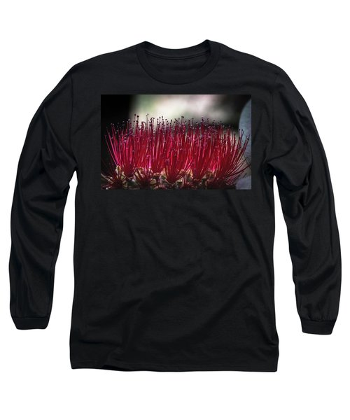 Brush Flower Long Sleeve T-Shirt