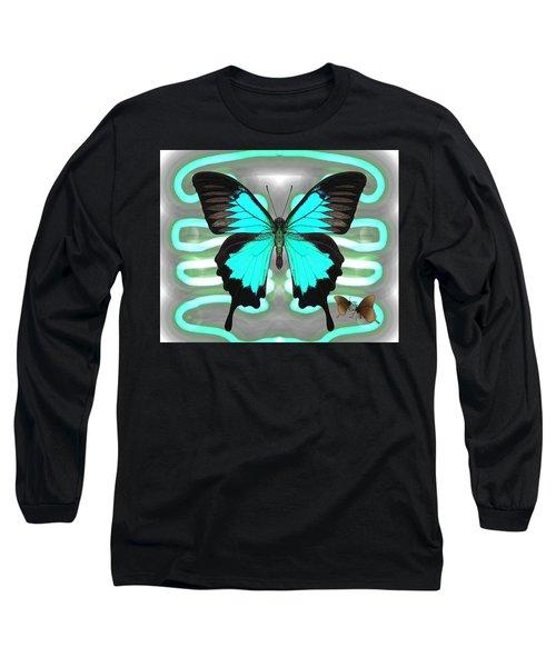 Butterfly Patterns 24 Long Sleeve T-Shirt