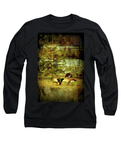By The Little Tree - Lake Carasaljo Long Sleeve T-Shirt