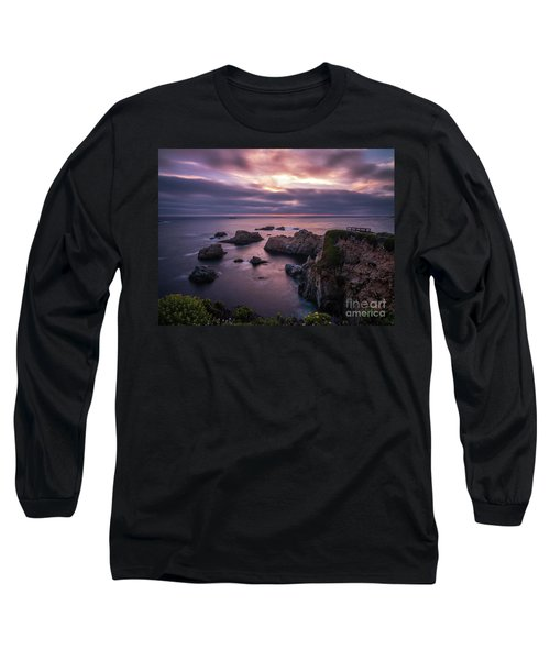 California Coast Evening Mood Long Sleeve T-Shirt