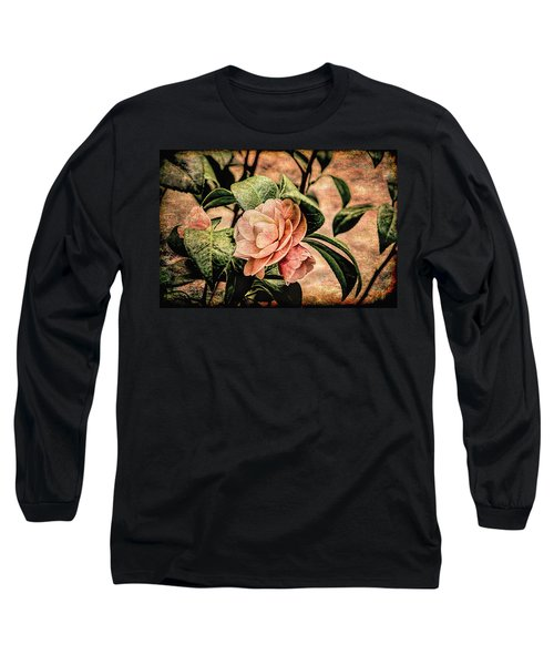 Camellia Grunge Long Sleeve T-Shirt