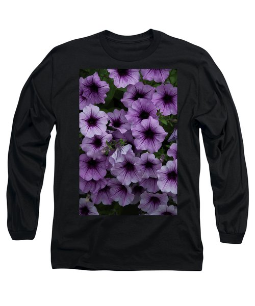 Cascade In Violet Long Sleeve T-Shirt