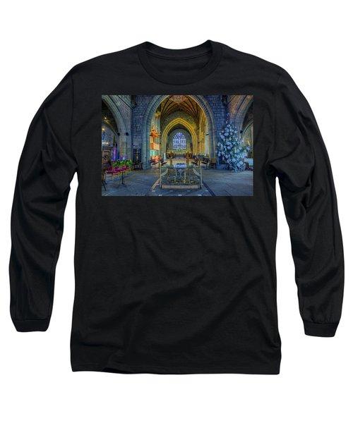 Cathedral At Christmas Long Sleeve T-Shirt