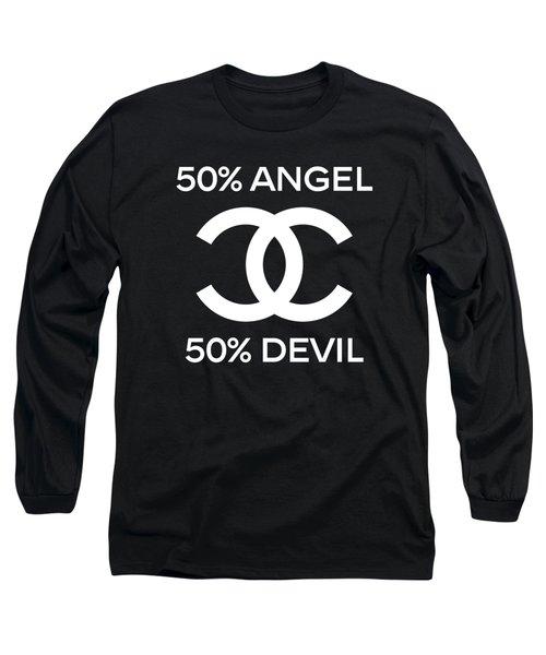 Chanel Angel Or Devil-4 Long Sleeve T-Shirt
