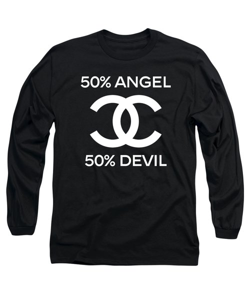 Chanel Angel Or Devil-4 Long Sleeve T-Shirt