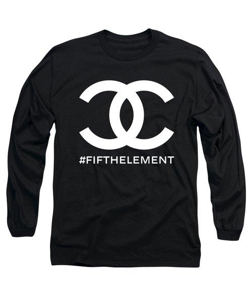 Chanel Fifth Element-2 Long Sleeve T-Shirt