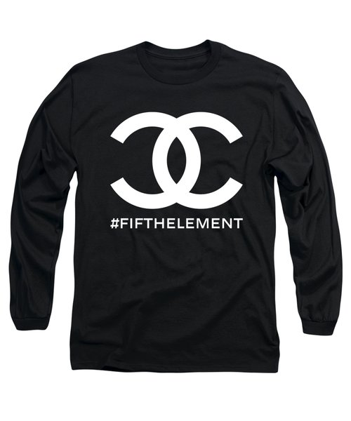 Chanel Fifth Element-2 Long Sleeve T-Shirt