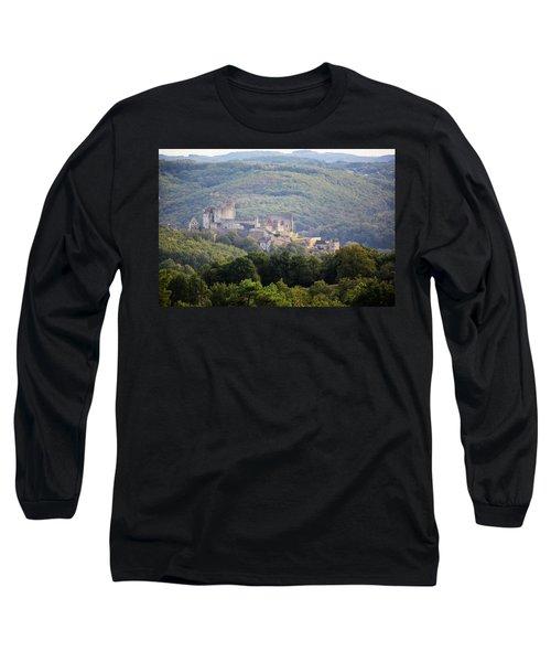 Chateau Beynac, France Long Sleeve T-Shirt