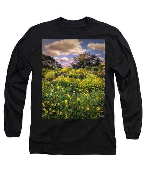 Chatsworth Wildflower Bloom Long Sleeve T-Shirt