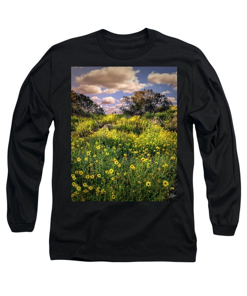 Chatsworth Wildflower Bloom Long Sleeve T-Shirt