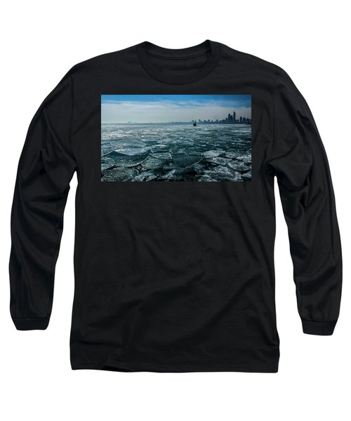 Chicago From Navy Pier 2 Long Sleeve T-Shirt