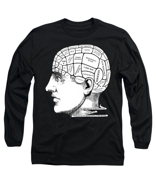 Chickens On My Mind Long Sleeve T-Shirt