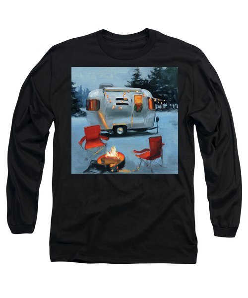 Christmas In The Snow Long Sleeve T-Shirt