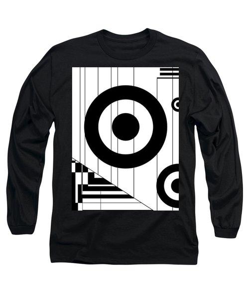 Circular Circles  Long Sleeve T-Shirt