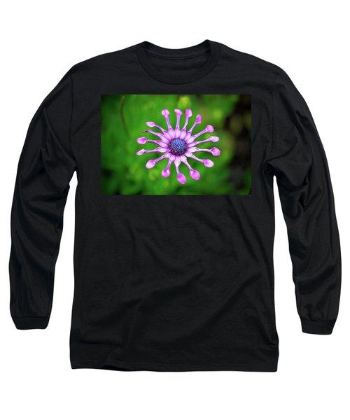 Circular Long Sleeve T-Shirt