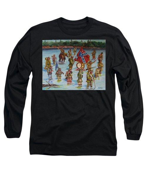 Civil War Battle, Spanish Fort, Spanish Fort,mobile Bay, Alabama Long Sleeve T-Shirt
