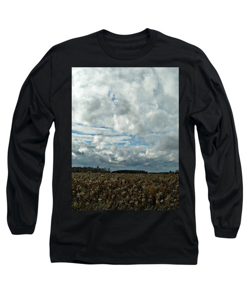 Clear Cloudy Day Long Sleeve T-Shirt