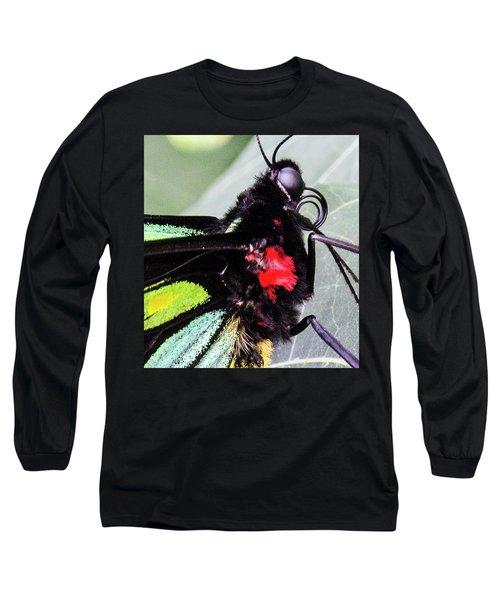 Color Up Close Long Sleeve T-Shirt