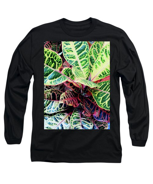 Colorful - Croton - Plant Long Sleeve T-Shirt