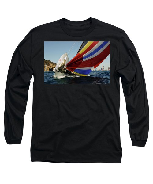 Colorful Spinnaker Run Long Sleeve T-Shirt