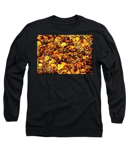 Colours. Autumn Gold Long Sleeve T-Shirt