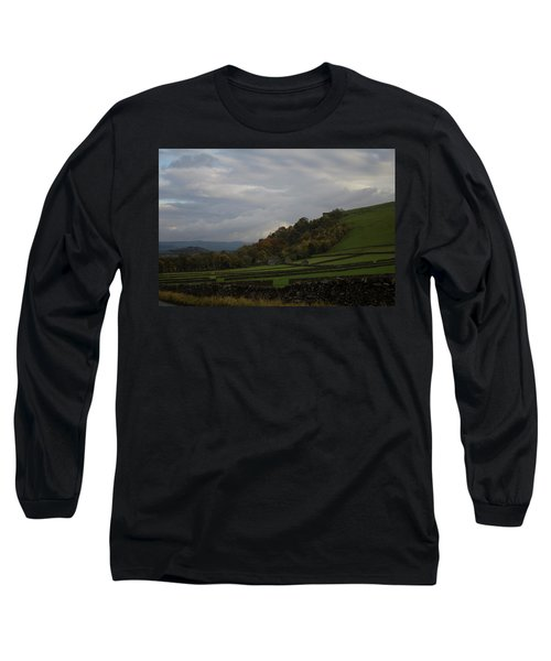 Derbyshire Stone Walls Long Sleeve T-Shirt