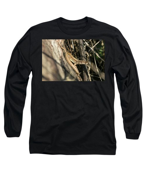 Common Lizard Long Sleeve T-Shirt