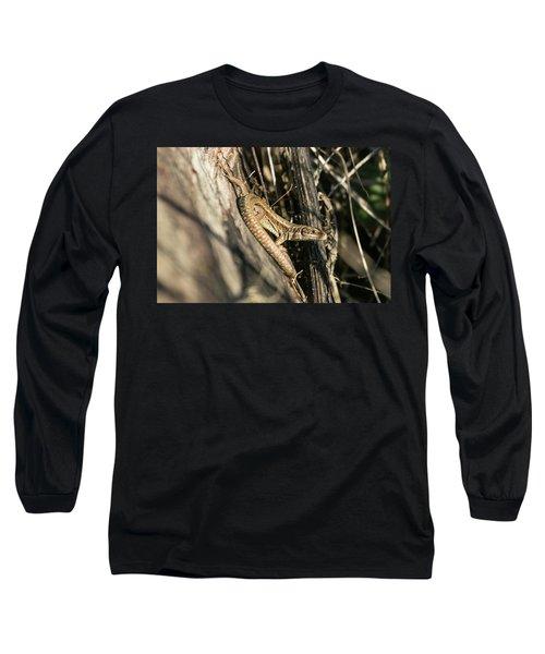 Common Lizard Long Sleeve T-Shirt