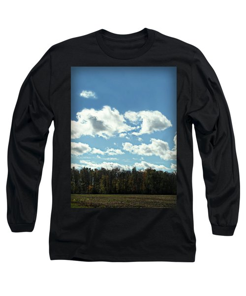 Country Atumn Curves 9 Long Sleeve T-Shirt