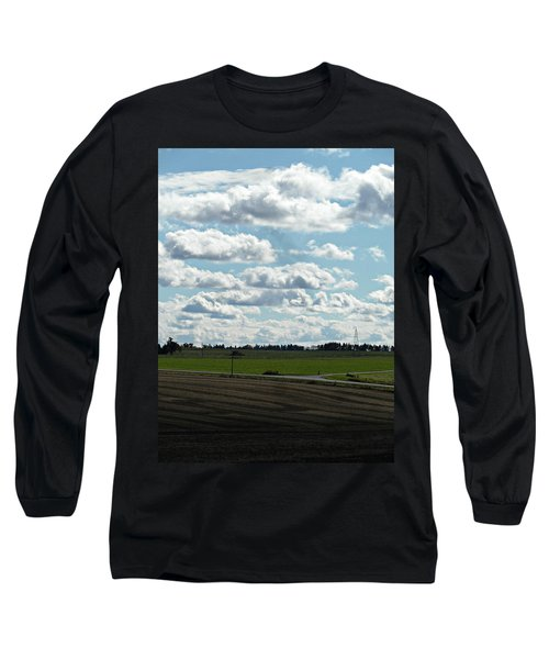 Country Autumn Curves 4 Long Sleeve T-Shirt