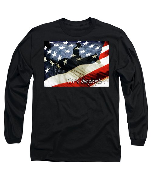 Cowboy Patriot Long Sleeve T-Shirt