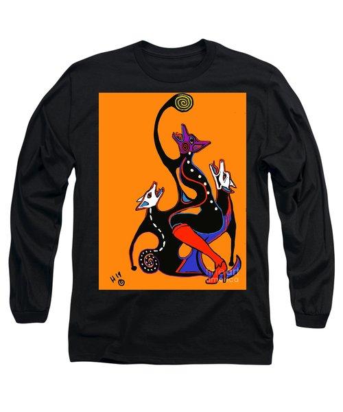 Coyote Moon  Long Sleeve T-Shirt