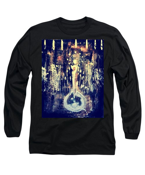 Long Sleeve T-Shirt featuring the painting Creatrix by 'REA' Gallery