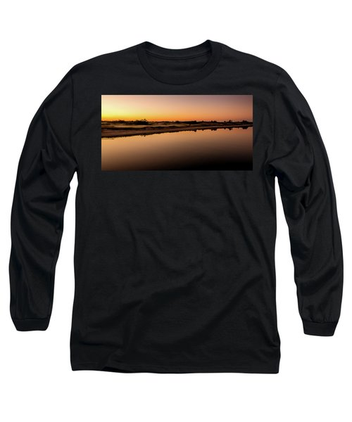 Dawn Light, Ogunquit River Long Sleeve T-Shirt