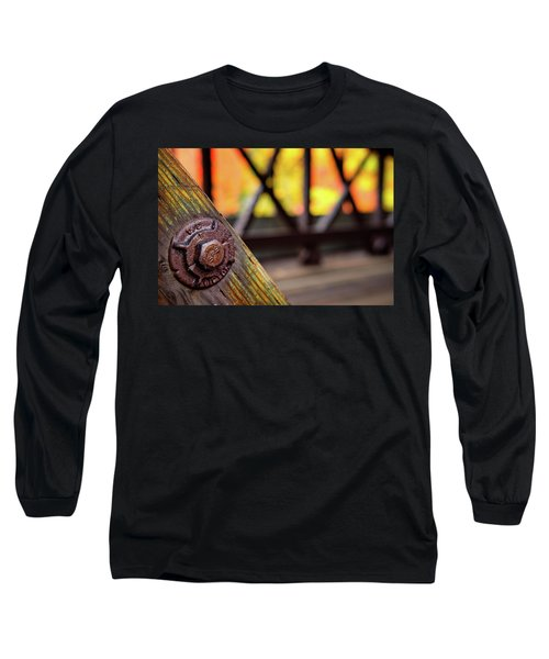 Details On A Covered Bridge Long Sleeve T-Shirt