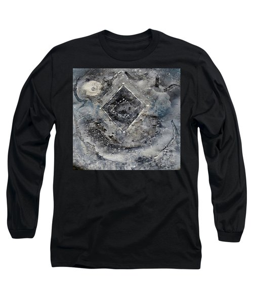 Long Sleeve T-Shirt featuring the painting Diamond Apparition  by 'REA' Gallery