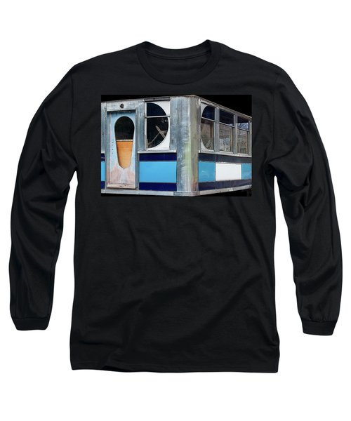 Diner Shapes, Detail 3 - Long Sleeve T-Shirt