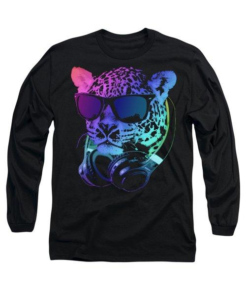 Dj Leopard Long Sleeve T-Shirt