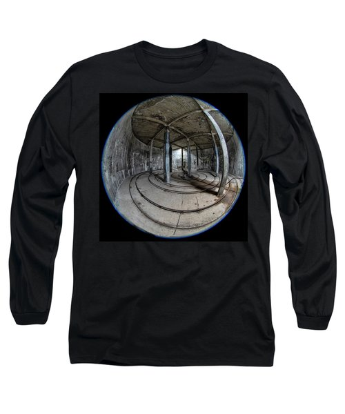 Djupavik Cannery Herring Oil Tank Long Sleeve T-Shirt