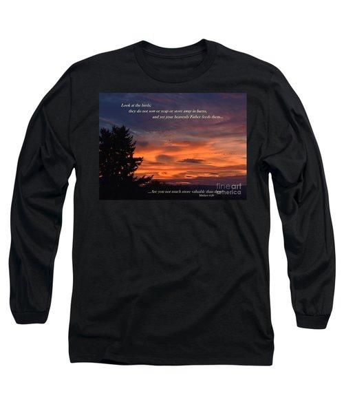 Do Not Worry Long Sleeve T-Shirt