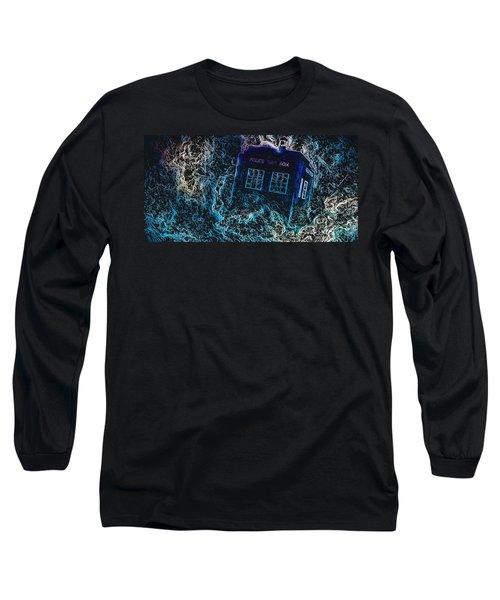 Doctor Who Tardis 3 Long Sleeve T-Shirt