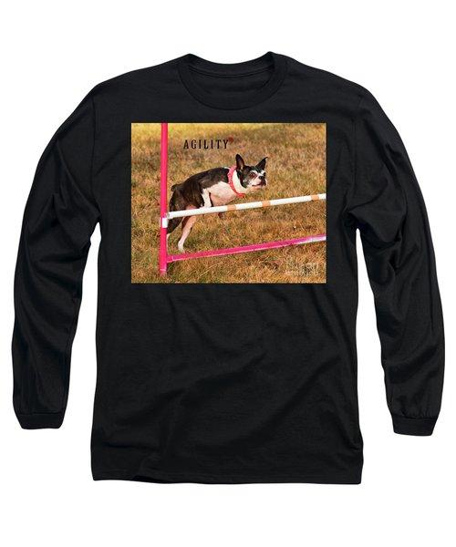 Doggie Agility  Long Sleeve T-Shirt