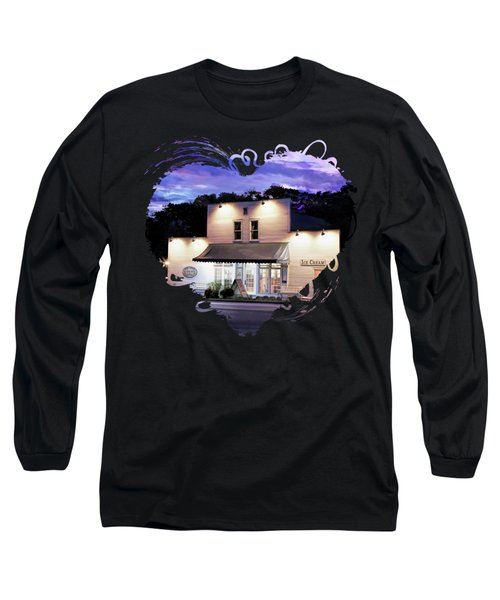 Door County Ice Cream Factory Long Sleeve T-Shirt