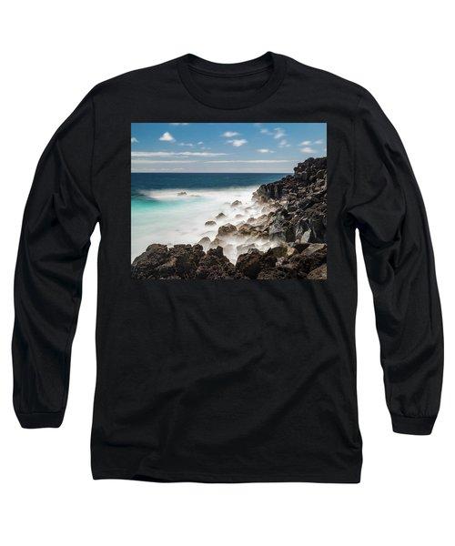 Dreamy Hawaiian Coastline Long Sleeve T-Shirt