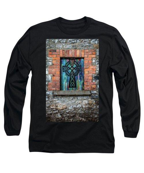 Drogheda Celtic Cross Long Sleeve T-Shirt