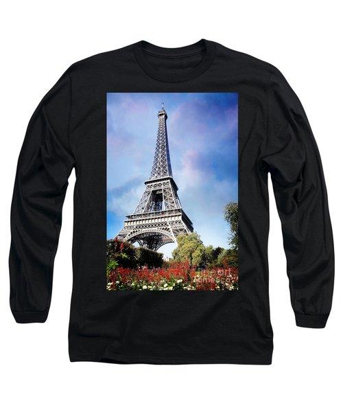 Eiffel Garden Long Sleeve T-Shirt