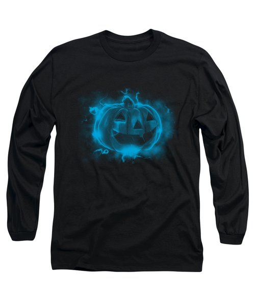 Electric Pumpkin Long Sleeve T-Shirt