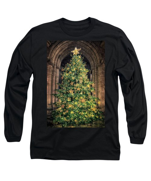 Ely Cathedral Christmas Tree 2018 Long Sleeve T-Shirt
