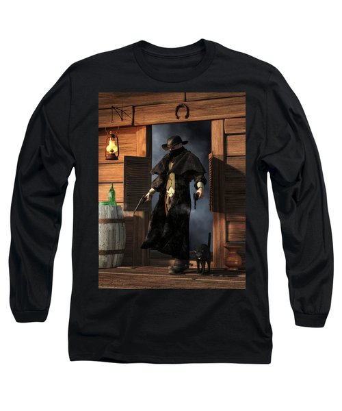 Enter The Outlaw Long Sleeve T-Shirt